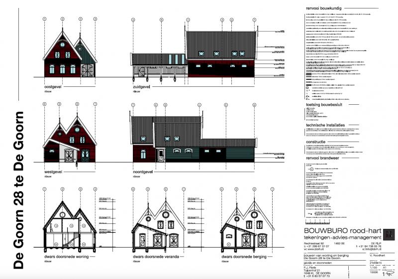 Bbrh bouwburo rood hart een nieuwbouw woning in stijl for Huis inrichten op schaal